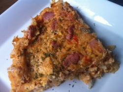 bacon tomato tortilla
